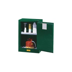 "Justrite - 891224 - Pesticide Safety Cabinet, Self-Closing Door Type, 12 gal. Capacity, 35"" Height, 23-1/4"" Width, 18"" D"