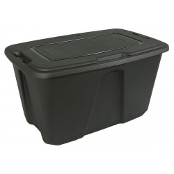 Other - 6550GRMCH.04 - Storage Tote, Gray, 18-1/2H x 38-1/8L x 24W, 1EA