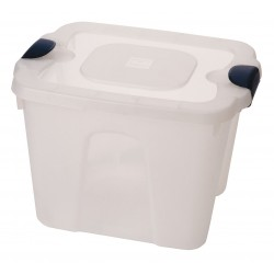 Other - 8510GRCL.10 - Storage Tote, Clear, 13-1/2H x 19L x 15-3/4W, 1EA