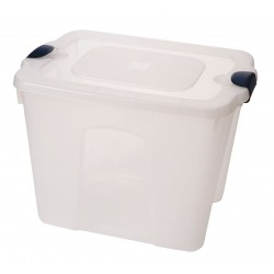 Other - 8520GRCL.08 - Storage Tote, Clear, 17-1/4H x 23-3/4L x 18W, 1EA