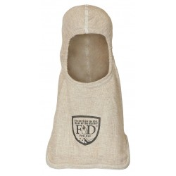 Fire Dex - H81PSNB - Bibbed Fire Hood, Univ, 15 In L, Tan, HRC 2