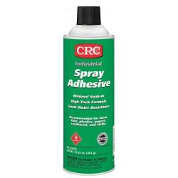 CRC - 03018 - 24 oz. Minimal Soak-In Spray Adhesive with Temp. Range (F) of 122
