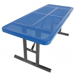 UltraSite - 238U-P6-BLUE - 72 x 30 x 30 Steel Utility Table with 200 lb. Weight Capacity, Blue
