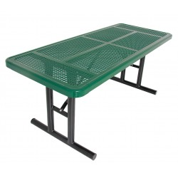 UltraSite - 238U-P6-GREEN - 72 x 30 x 30 Steel Utility Table with 200 lb. Weight Capacity, Green