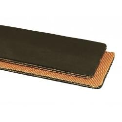 Apache Hose & Belting - 20027202-08 - Conveyor Belt, 2 Ply Rubber, Black, W 8 In