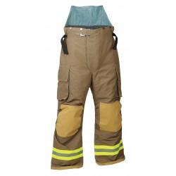 Fire Dex - 32X6P868-2X - Nomex/Kevlar, Turnout Pants, Size: 2XL, Fits Waist Size 48, 29 Inseam
