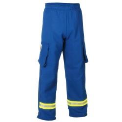 Fire Dex - PPCROSSTECHEMS-S - EMS Pants. Size: S, Fits Waist Size: 32, Inseam: 30, Royal Blue
