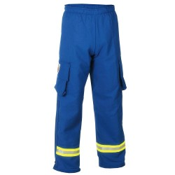 Fire Dex - PPCROSSTECHEMS-2X - EMS Pants. Size: 2XL, Fits Waist Size: 48, Inseam: 30, Royal Blue