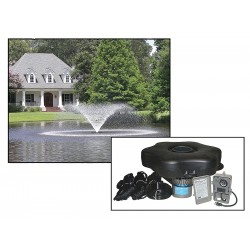 Kasco - 2400VFX100 - 1/2 HP Pond Aerating Fountain System, 120V Voltage, 5.6 Full Load Amps, 605 Full Load Watts