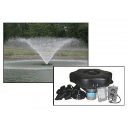 Kasco - 8400VFX150 - 2 HP Pond Aerating Fountain System, 240V Voltage, 11 Full Load Amps, 2376 Full Load Watts