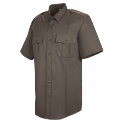 Horace Small - HS1284 SS M - Sentry Shirt, Womens, SS, Brown, M