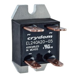 Crydom / CST - EL240A20-24 - 1-Pole Flange Mount Solid State Relay; Max. Output Amps w/Heat Sink: 10