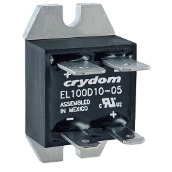 Crydom / CST - EL100D5-05 - 1-Pole Flange Mount Solid State Relay; Max. Output Amps w/Heat Sink: 20