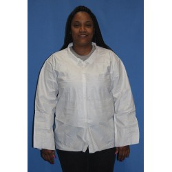 Action Chemical - A-1090-XL - Promax(R) Long Sleeve Shirt, Wht, XL, PK50