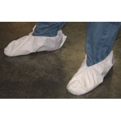Action Chemical - A-1070 - XL Shoe Covers, Slip Resistant Sole: No, Waterproof: Yes, 6 Height