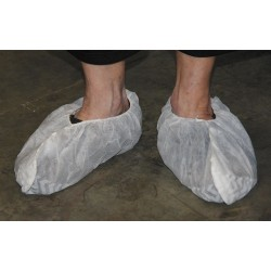 Action Chemical - A-2105W-N/S-18 - 2XL Shoe Covers, Slip Resistant Sole: Yes, Waterproof: No, 6-3/4 Height