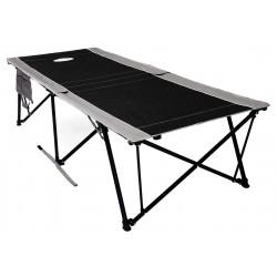 Kamp-Rite Tent Cot - FC421 - 84 x 33 Kwik Cot with 400 lb. Weight Capacity; Black/Gray