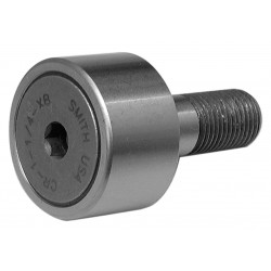 ABC (Accurate Bushing Company) - CR-1-1/8-XB - 1.1250 Roller Dia. Flat Stud Cam Follower;Hex Socket Face Design