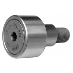 ABC (Accurate Bushing Company) - CR-1-1/4-XBE - 1.2500 Roller Dia. Crowned Stud Cam Follower;Hex Socket Face Design