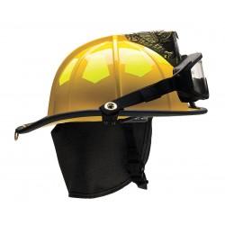 Bullard - US6YLGIZ2 - Yellow Fire Helmet, Shell Material: Fiberglass, 6-Point Sure-Lock Ratchet Suspension, Fits Hat Size
