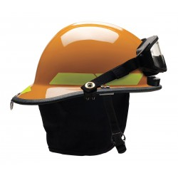 Bullard - PXSORTLGIZ2 - Orange Fire Helmet, Shell Material: Thermoplastic, 6-Point Sure-Lock Ratchet Suspension, Fits Hat S