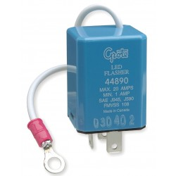 Grote - 44890 - Electronic LED Flasher, 3 Terminal