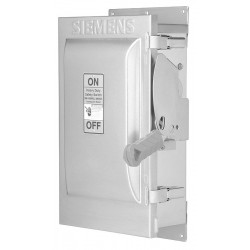 Siemens - HNF364 - Safety Switch, 1 NEMA Enclosure Type, 200 Amps AC, 150 HP @ 600VAC HP