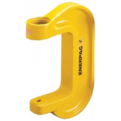 "Enerpac - A205 - Yellow, Square C-Clamp, 6-1/2 Size (In.), 20000 Load Capacity (Lb.), 2"" Throat Depth"