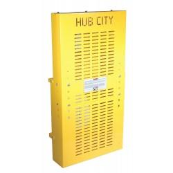 Hub City / Regal Beloit - 0279-00387 - Vertical Parallel Shaft Belt Guard, Steel