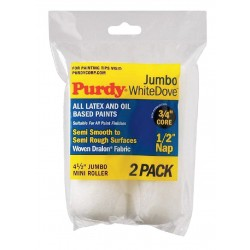 Purdy - 140624013 - Mini Paint Roller Cover, 4-1/2 In, PK2