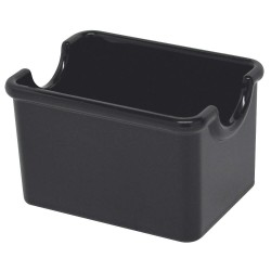 Carlisle FoodService - 455003 - Sugar Caddy, 20 Packet, Black, PK24