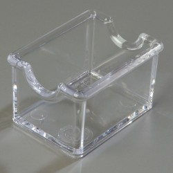 Carlisle FoodService - 455007 - Sugar Caddy, 20 Packet, Clear, PK24