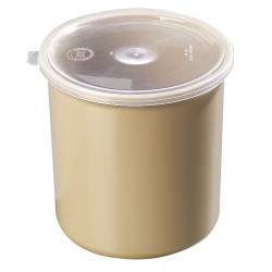 Carlisle FoodService - 034106 - 1.2 qt. Polypropylene Poly-Tuf Crock w/Lid; PK12