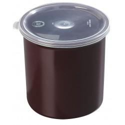 Carlisle FoodService - 034101 - 1.2 qt. Polypropylene Poly-Tuf Crock w/Lid; PK12