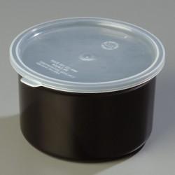 Carlisle FoodService - 034303 - 1.5 qt. Polypropylene Poly-Tuf Crock w/Lid; PK6