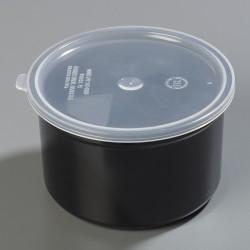 Carlisle FoodService - 031603 - 1.5 qt. Polypropylene Classic Crock w/Lid; PK6