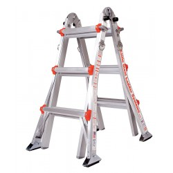 Little Giant - 10101AS - Aluminum Multipurpose Ladder, 11 ft. Extended Ladder Height, 300 lb. Load Capacity