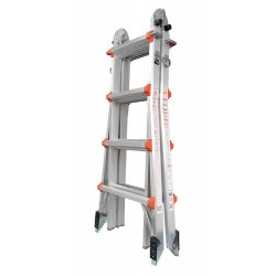 Little Giant - 10102AS - Aluminum Multipurpose Ladder, 15 ft. Extended Ladder Height, 300 lb. Load Capacity