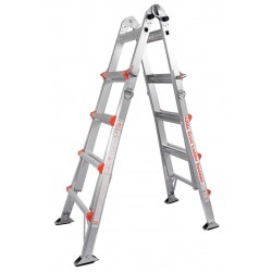 Little Giant - 10103AS - Aluminum Multipurpose Ladder, 19 ft. Extended Ladder Height, 300 lb. Load Capacity