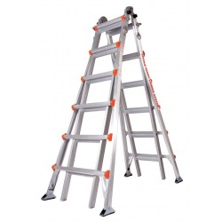 Little Giant - 10126AS - Aluminum Multipurpose Ladder, 23 ft. Extended Ladder Height, 300 lb. Load Capacity