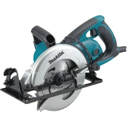 Makita - 5477NB - Wrm Drv Circ Saw, 7-1/4 In Blade, 4500 rpm