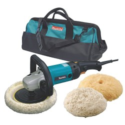 "Makita - 9227CX3 - Dwos 7"" Polisher/sander W/ Bonnets"