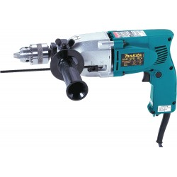 "Makita - HP2010N - Hammer Drill Kit, 3/4"", 6.0A, 0-46, 000bpm"
