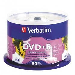Verbatim / Smartdisk - VER95136 - DVD+R Disc, 4.70 GB Capacity, 16x Speed