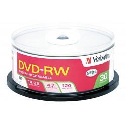 Verbatim / Smartdisk - VER95179 - DVD-RW Disc, 4.70 GB Capacity, 4x Speed