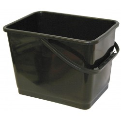 Mallory - 864 BLACK - Squeegee Bucket, 2 gal., Plastic