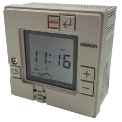 Omron - H5L-A - Electronic Timer, 15 Amps, 120 to 240VAC Voltage, Operation Mode: 7 Days, Number of Channels: 2