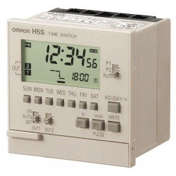 Omron - H5S-YB2-X - Electronic Timer, 15 Amps, 120 to 240VAC Voltage, Operation Mode: 365 Days, Number of Channels: 2