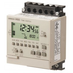 Omron - H5S-YFB2-X - Electronic Timer, 15 Amps, 120 to 240VAC Voltage, Operation Mode: 365 Days, Number of Channels: 2