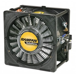 Euramco Safety - AFI50XX - Conf.Sp. Fan, Air Motor, 16 In, 1/2 HP